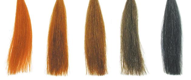 ナチュラルからグレーまで全5色が揃う、ハーティハートのヘナ